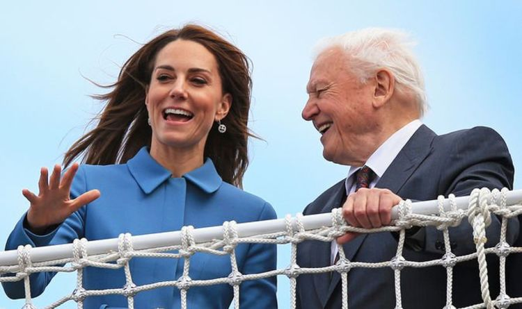 Kate Middleton S Guilty Confession To Sir David Attenborough About Her Upset Children Royal News News Press Live
